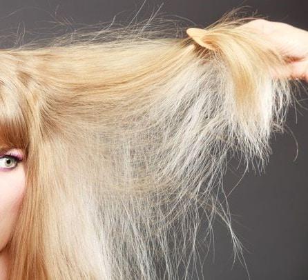 Как сушить сухие волосы