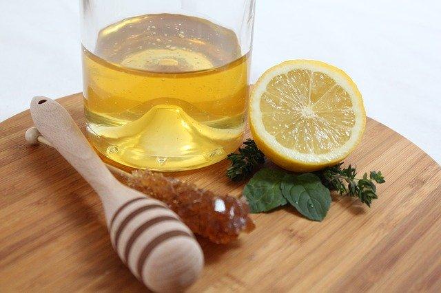 Лимонная маска для ногтей