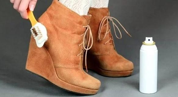 Замшевая обувь и уход
