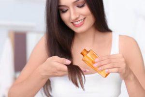 Масло для волос - правильное нанесение